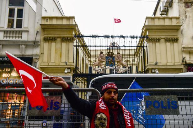 Turkey Dutch flag