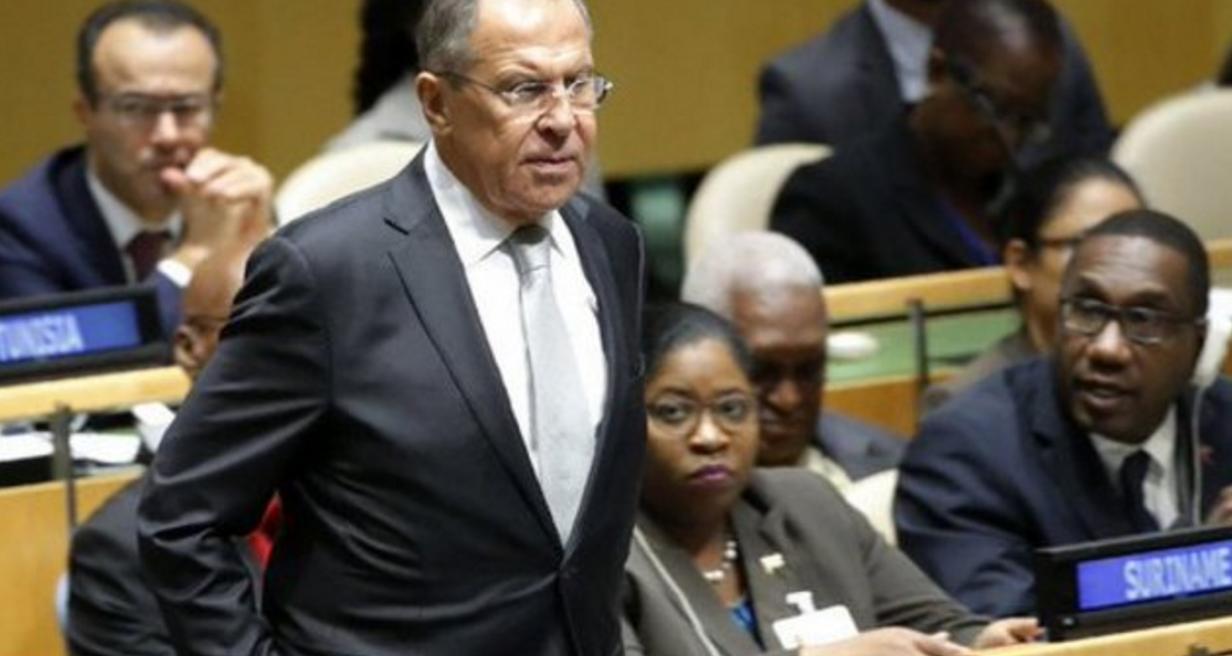 "Lavrov considers Trump's UN speech ""interesting"""