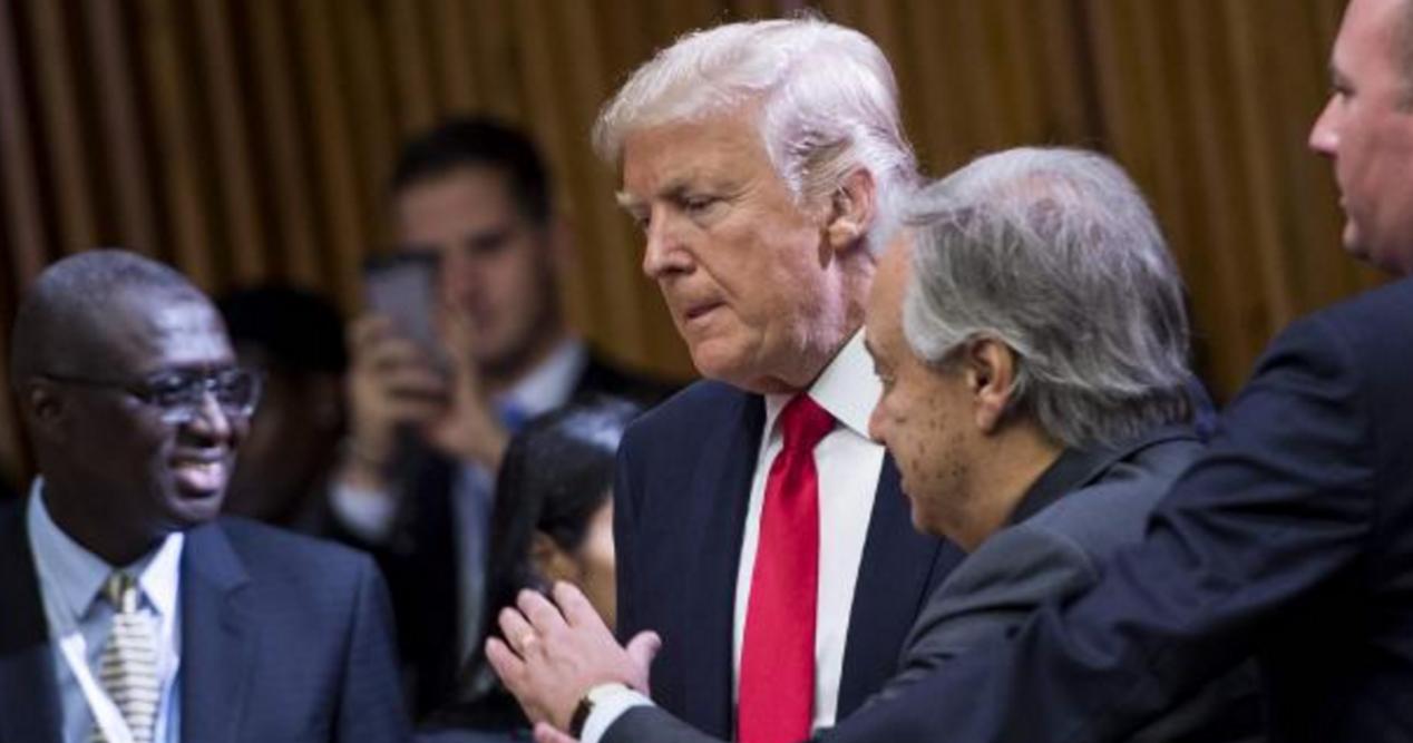 Trump criticises UN bureaucracy