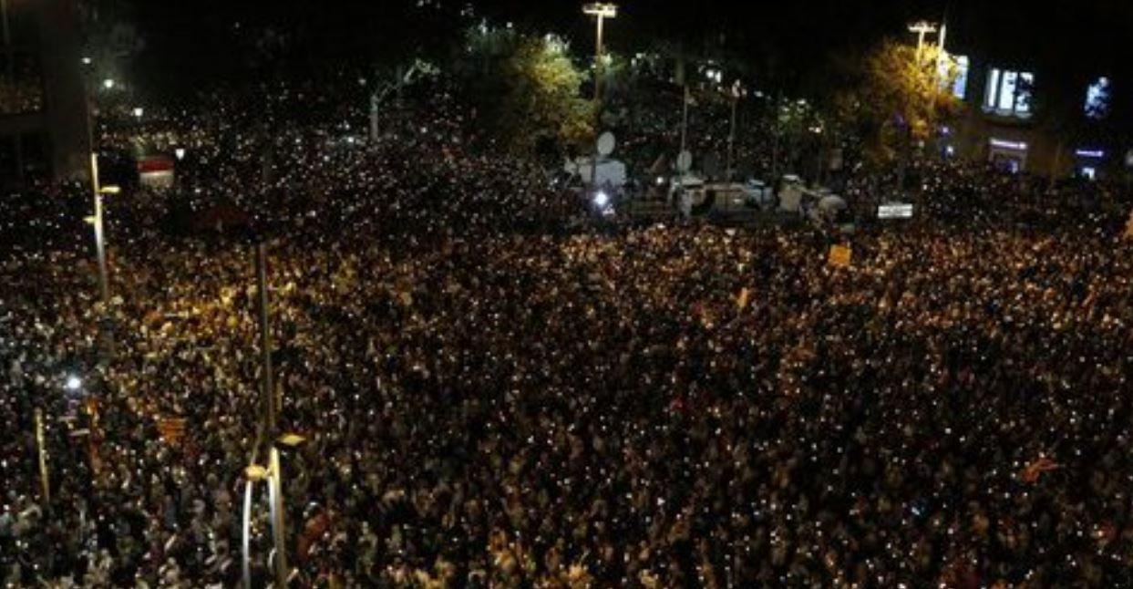 Catalonia pushed towards independence