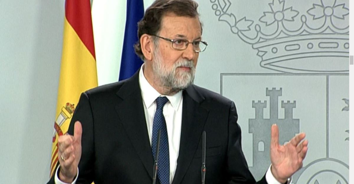 Rajoy strips off Catalonia freedoms