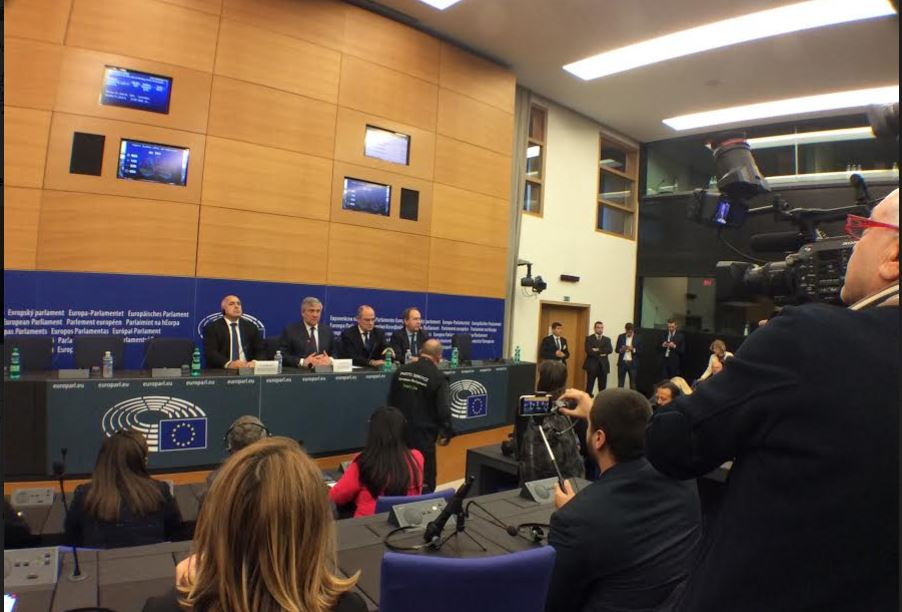 MEPs debate with Borisov Bulgaria' plans