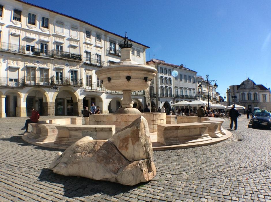 Giraldo Square, Évora, Alentejo, Portugal