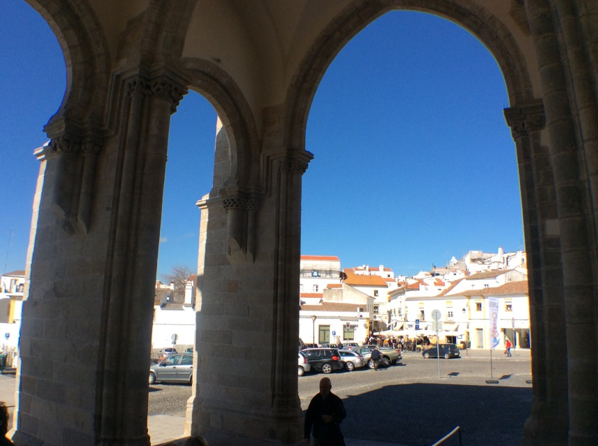 Cathedral, Évora, Alentejo, Portugal, 16 February 2018