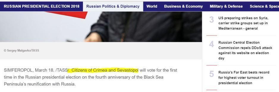 Crimea TASS
