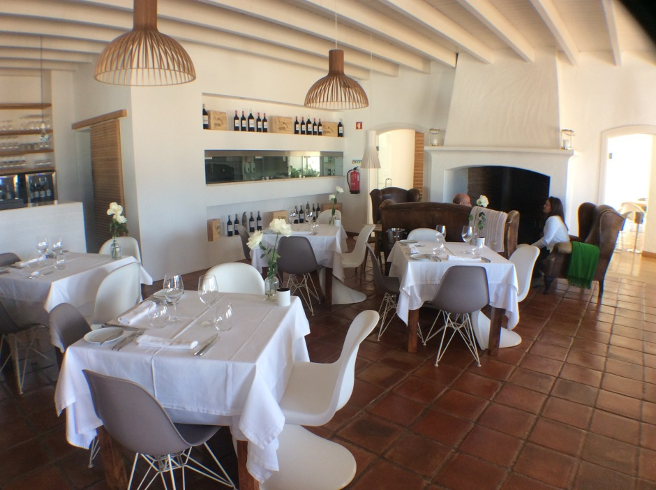 Image: Malhadinha Nova Estate, restaurant. 10 February 2018