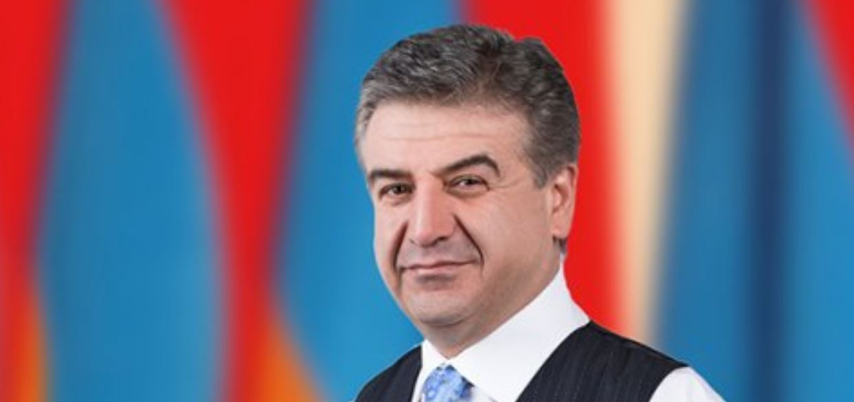 Karen Karapetyan leads Armenian government