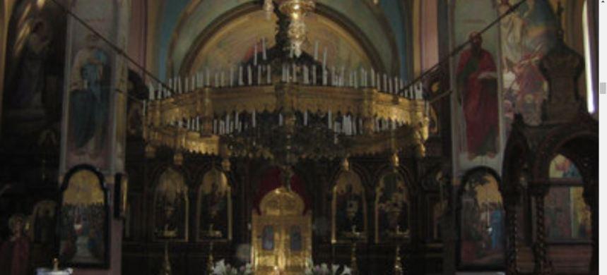 Russian compound church