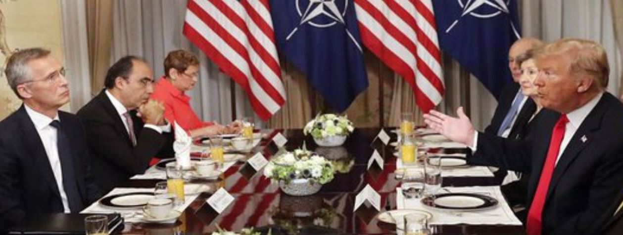 NATO tumultuous Summit
