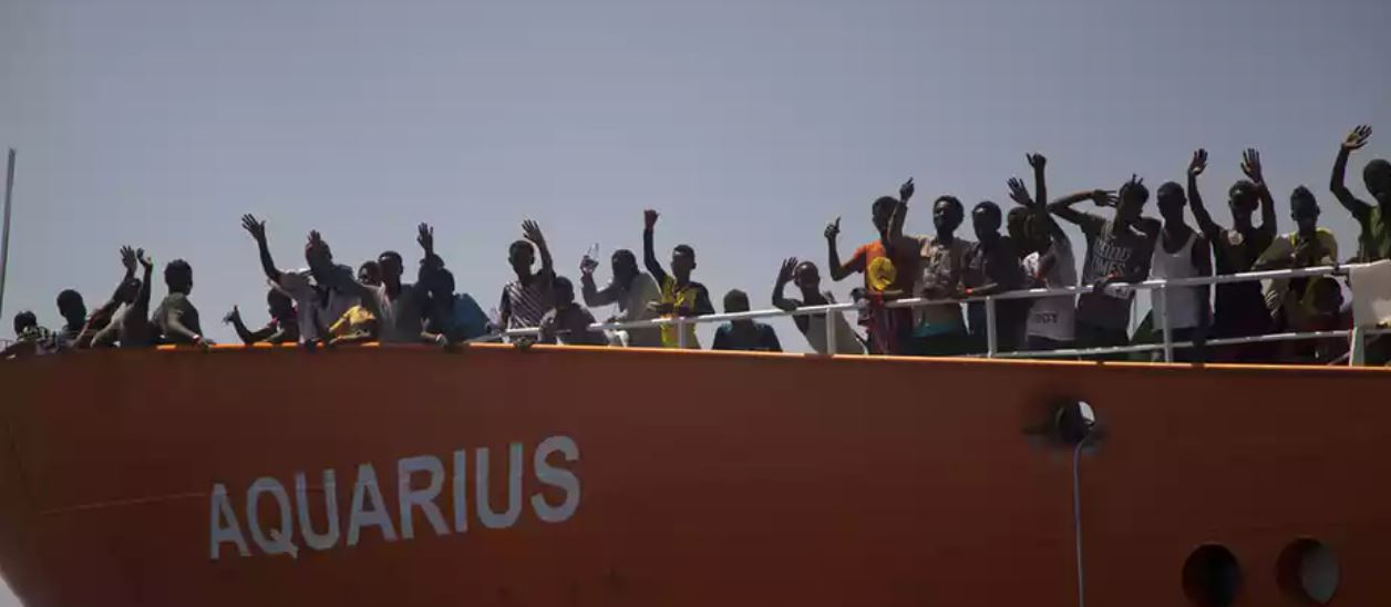 Salvini refueses Aquarius access to Italian ports