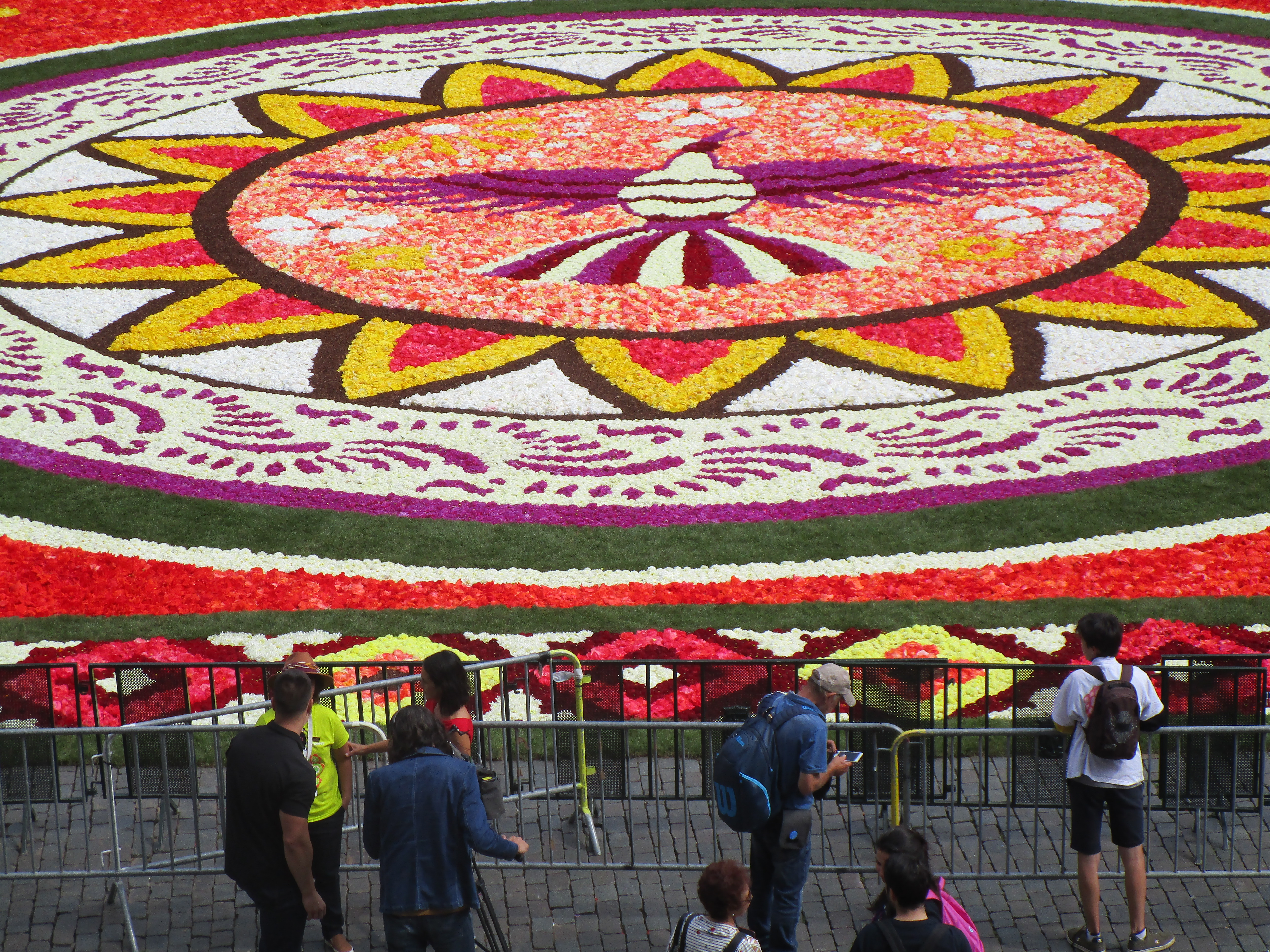 Brussels Flower Carpet in Mexican style