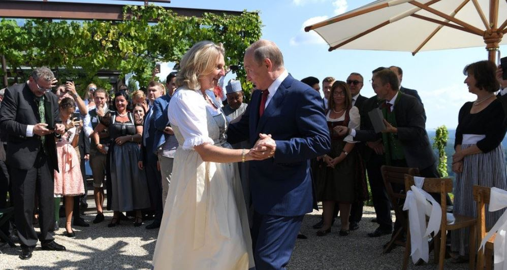 Austrian dazzling wedding