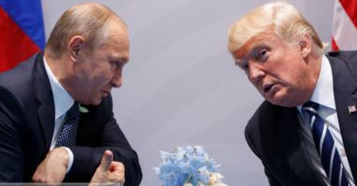 Putin suggests to meet Tump in Paris