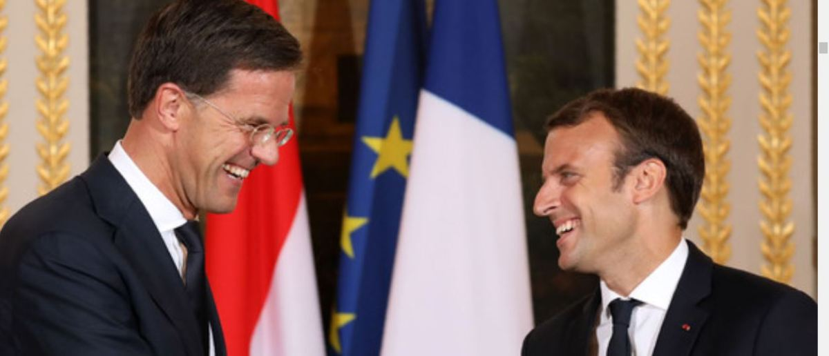 Rutte lures Macron to join European Liberals