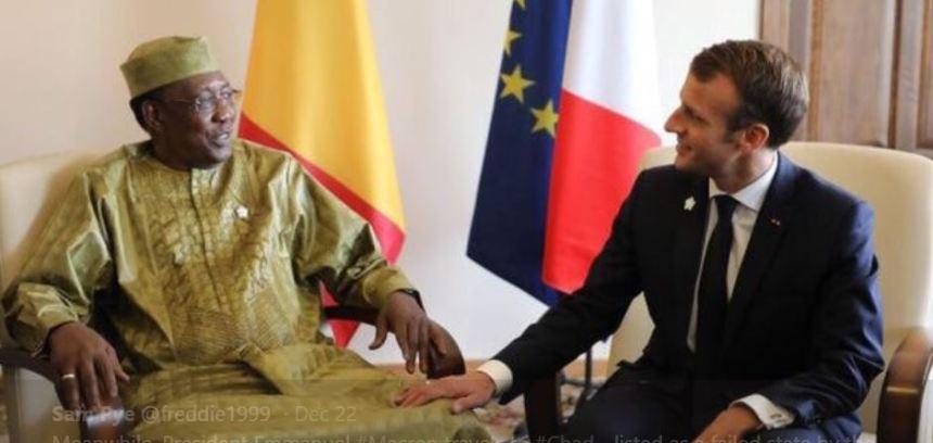 Macron Idriss Deby