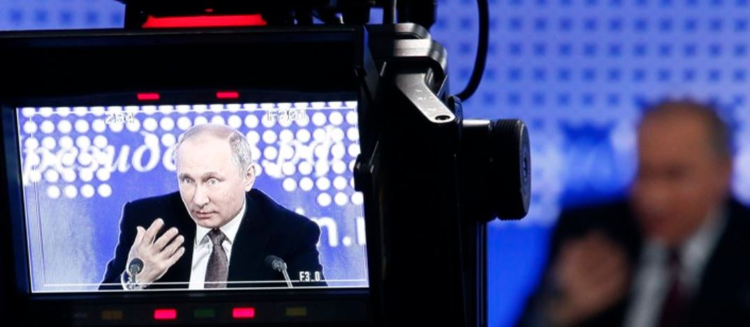 Media attention to Putin at rise