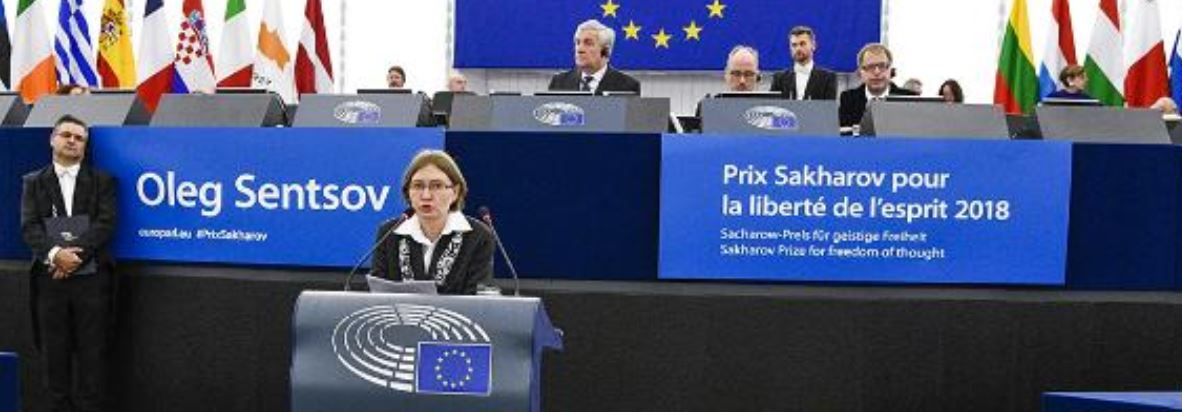 Tajani calls for release of Sentsov
