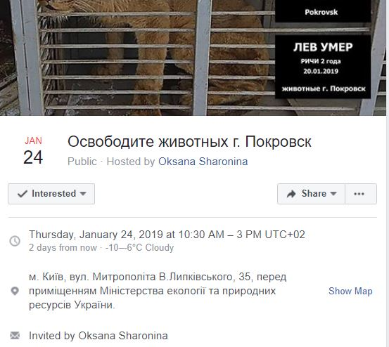 save pokrovsk animals