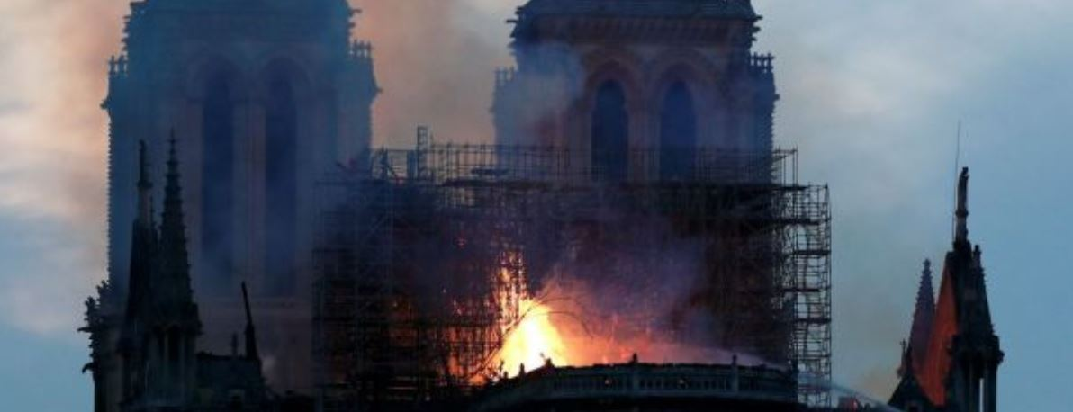 EU for aid to reconstruct Notre-Dame