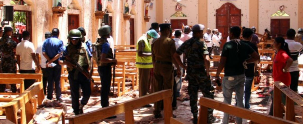 Sri Lanka counter terrorist operation ongoing