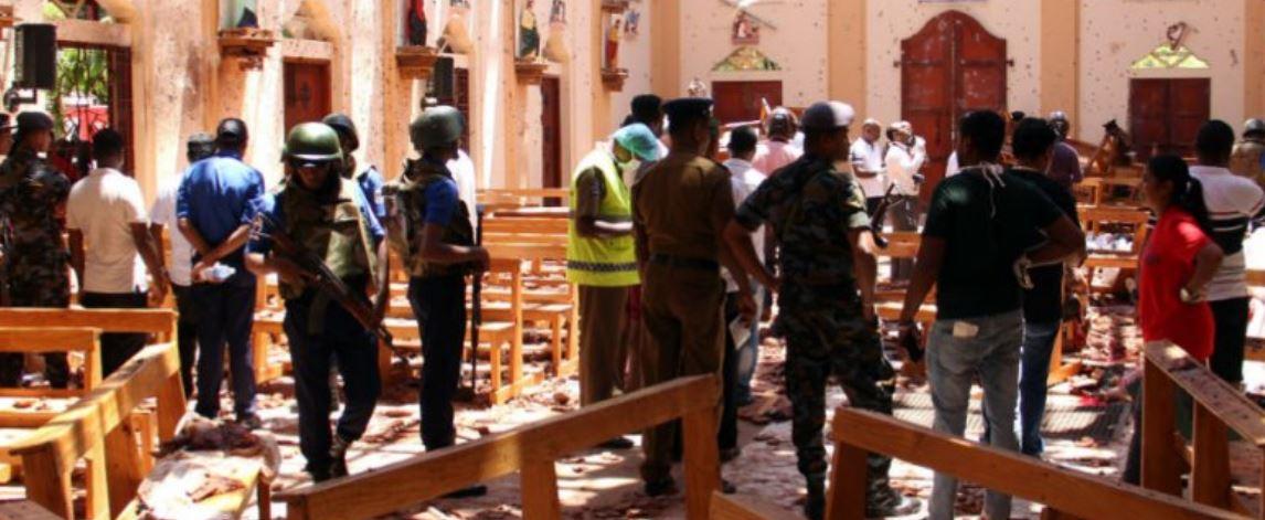 Sri Lanka counter terrorist operation ongoing