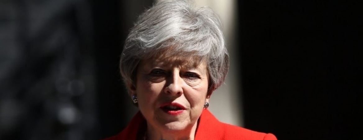 May steps down on 7 June