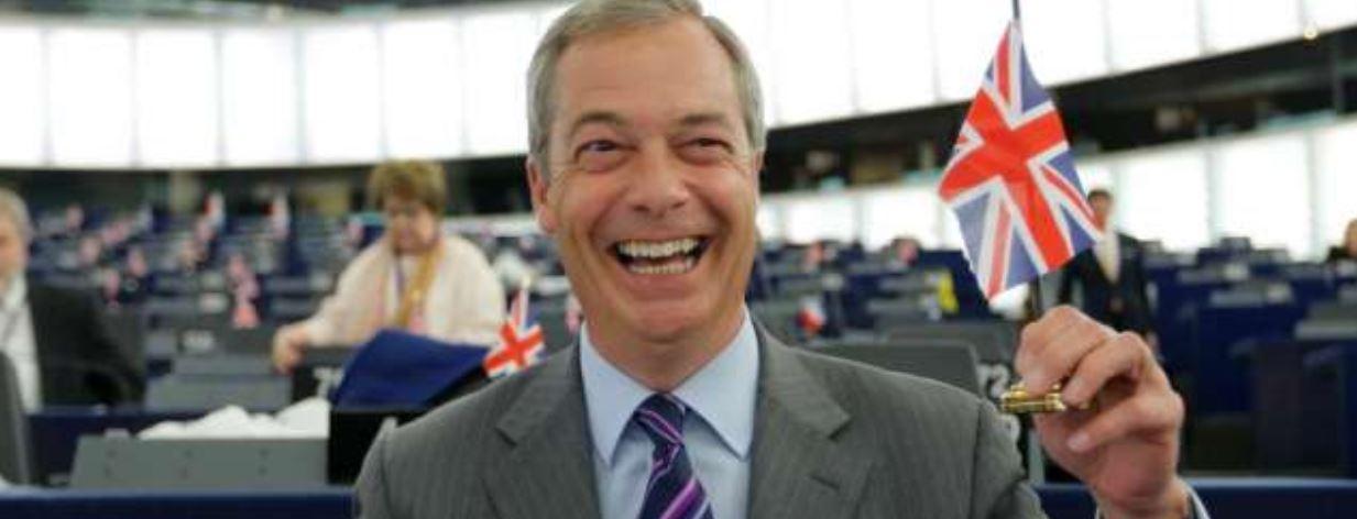 Farage Brexit party leads Eurosceptics