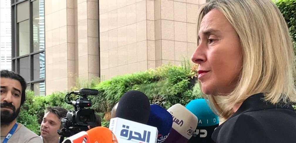 EU Foreign ministers discuss Iran nuclear deal