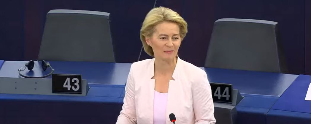Von der Leyen endorsed by MEPs as Commission president