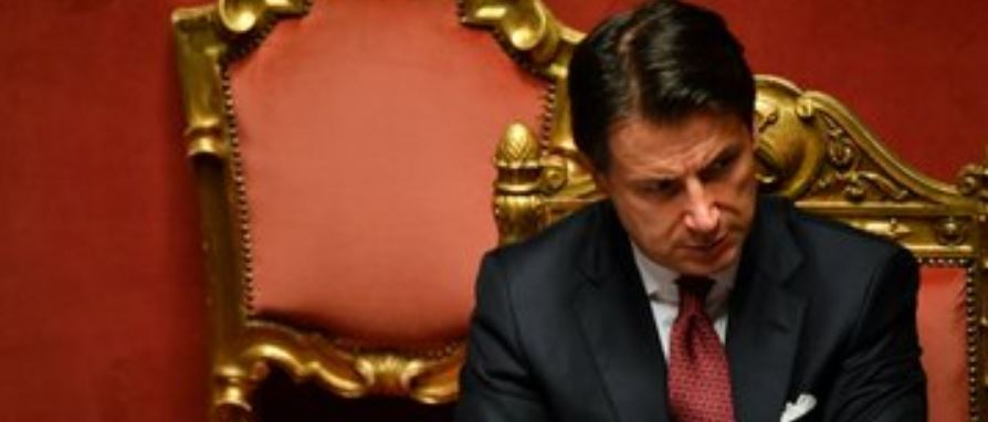 Italy PM Conte announces resignation