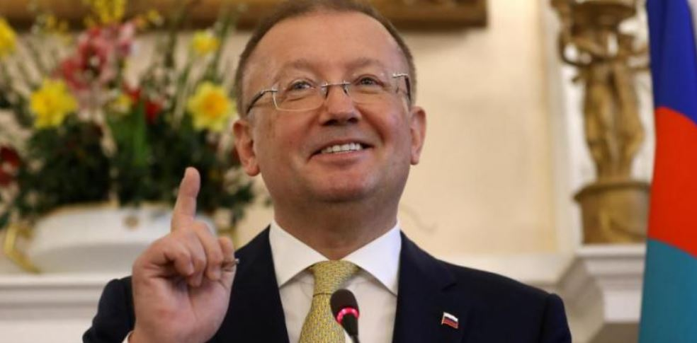 Russian Ambassador Yakovenko left London