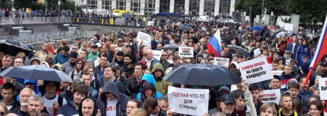 """Russia demands Google to bloc """"illegal"""" protests video"""