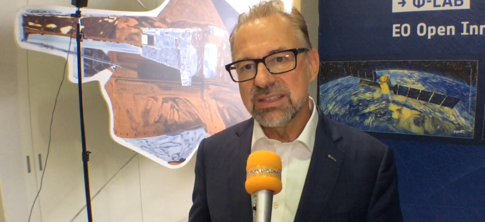 ESA Aschbacher calls for investing in space