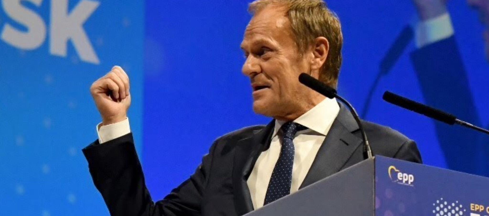 Polish Tusk endorsed for EPP leadership