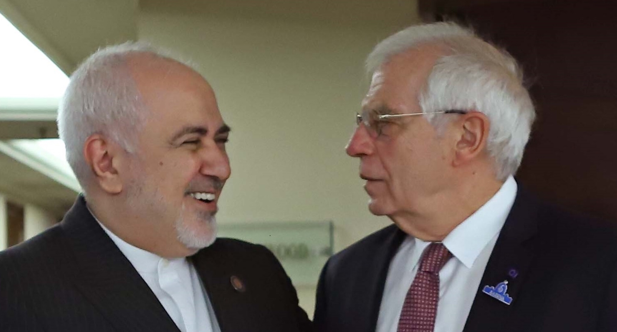 Borrell meets Zarif in New Delhi