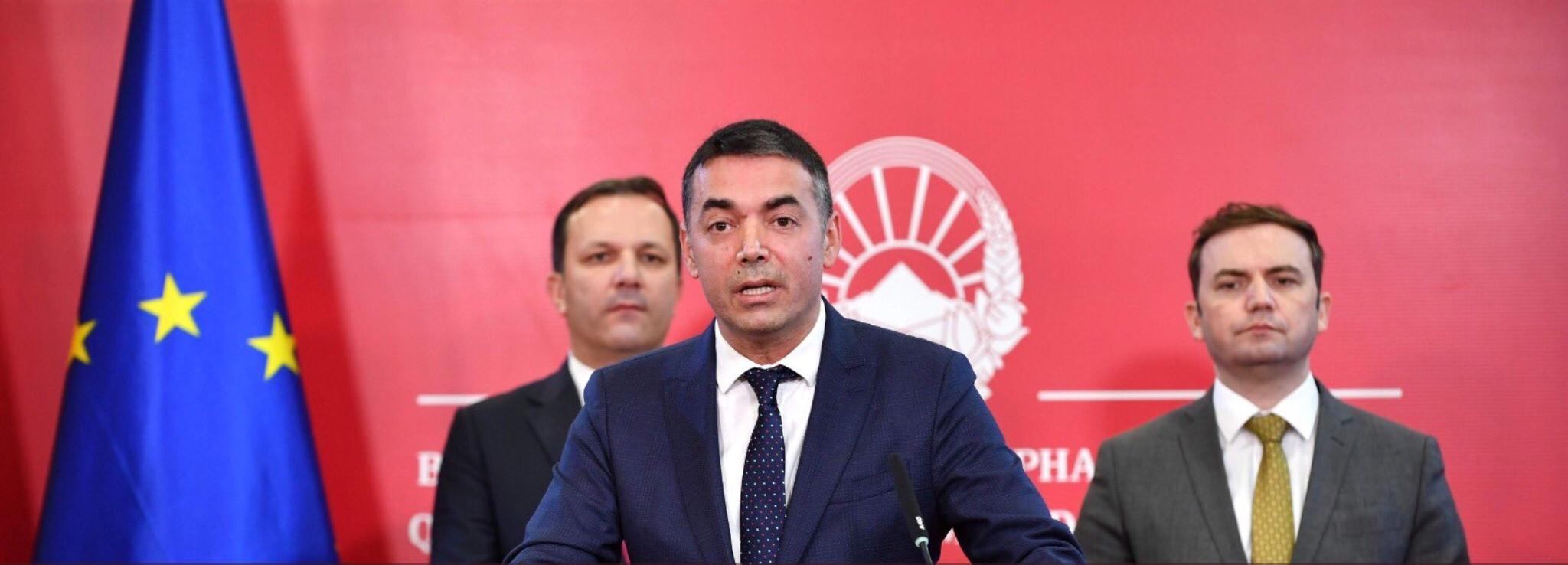 EU welcome to Albania & N.Macedonia