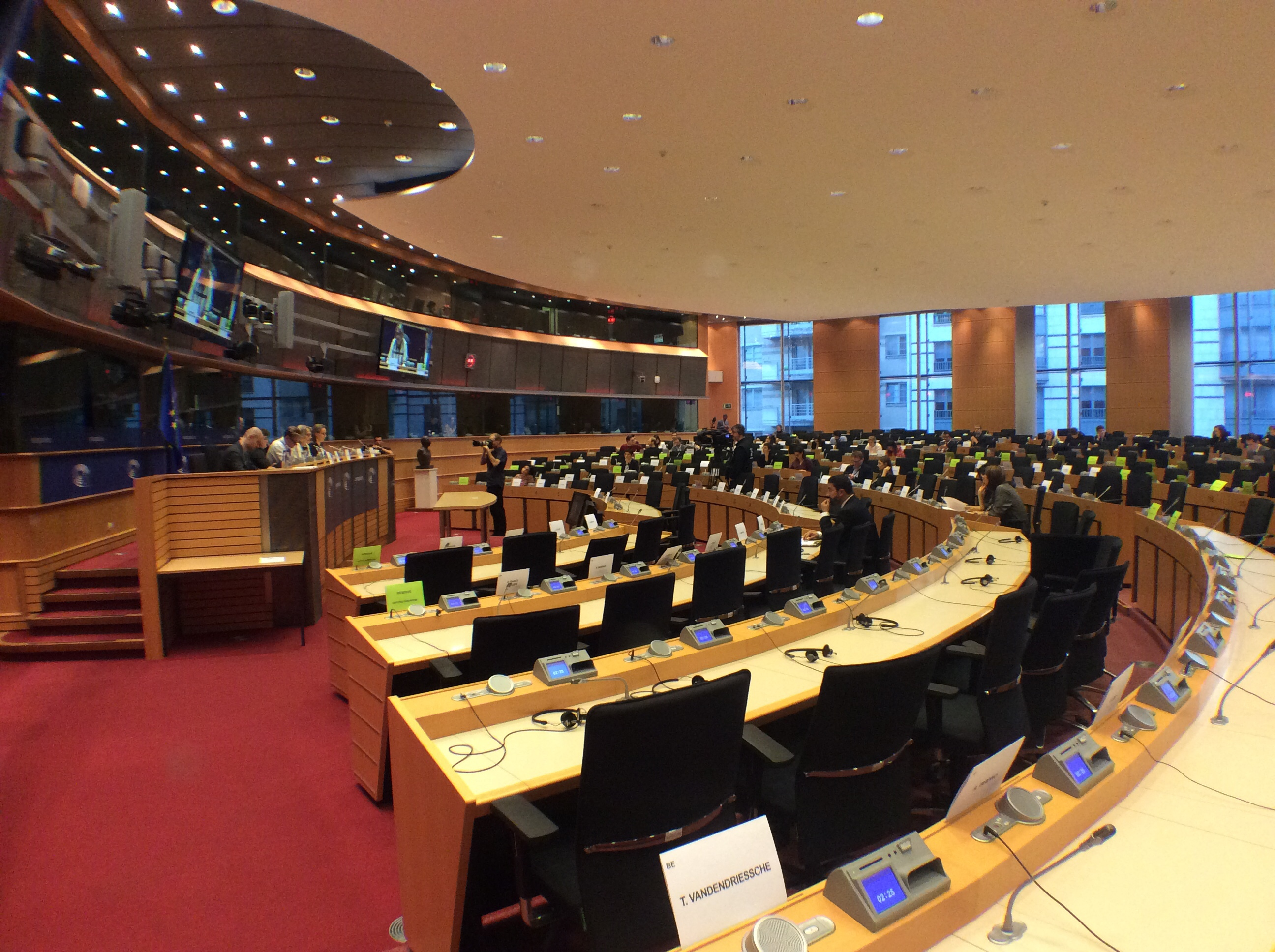Europarl extraordinary April plenary