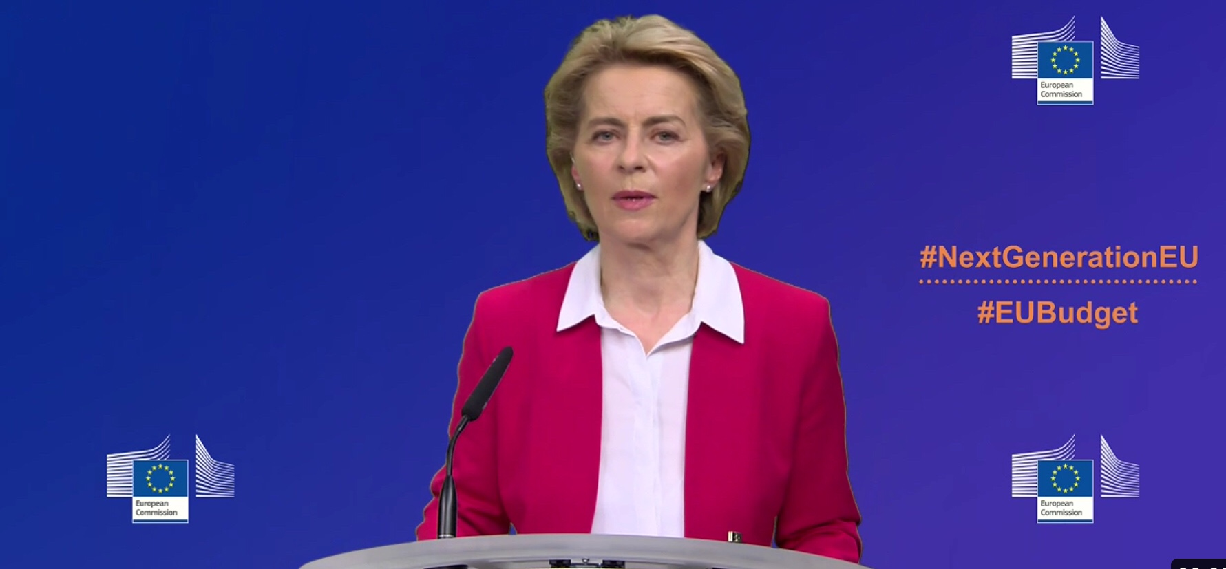 Leyen presents €750bn EU Recovery Plan