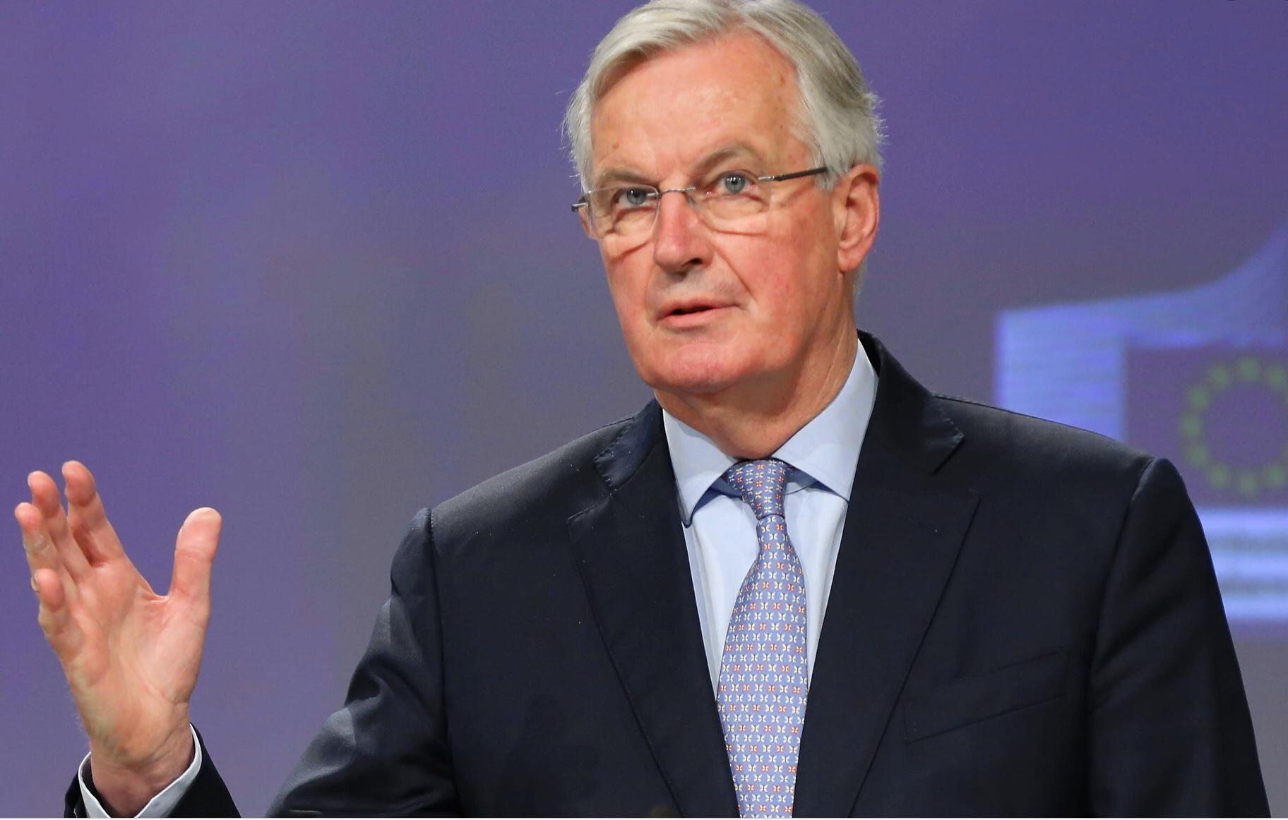 Barnier laments lack of progress.