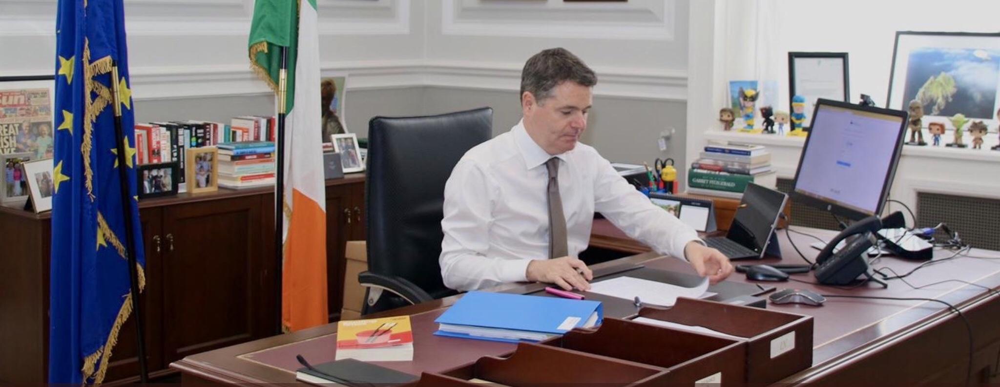Paschal Donohoe new Eurogroup president