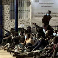 Spain: Morocco migrant tactic