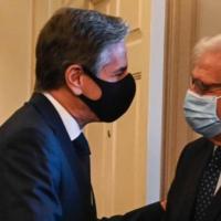 EU: Borrell talks with Blinken in Washington
