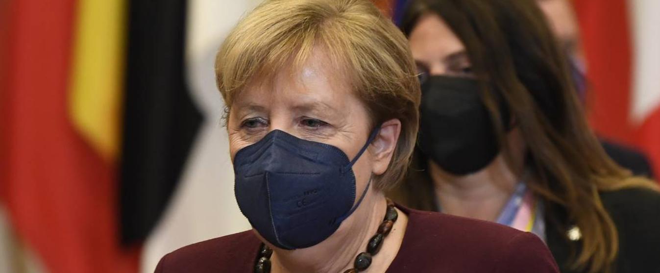 Merkel: farewell to EU Colossus